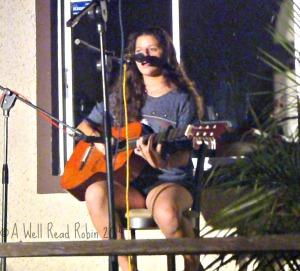 Saraya, song-writer & guitarist